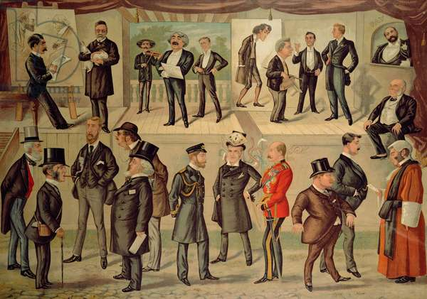 Personalities of the late 19th century, from Vanity Fair