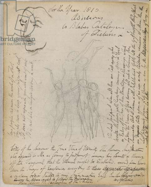 Sketches and poems of Blake