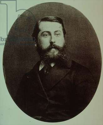 H.2349.a no.12 Clement Philiber Delibes (1836-91) (print of b/w photo)