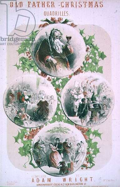 """""""Old Father Christmas"""", quadrilles composed by Adam Wright"""