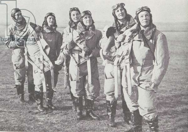 Experienced women pilots of the Air Transport Auxiliary, who are known as the 'Ata-girls', now number more than 100.  They can fly any one of about 140 different types.