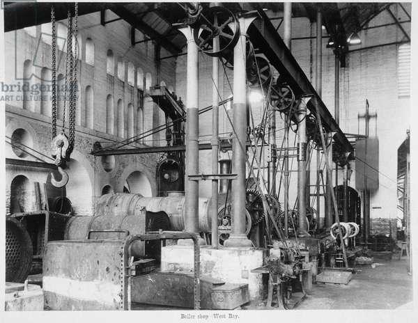 Boiler Shop - West Bay [Jamalpur Railway Workshops].
