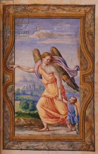 The Archangel Raphael and Tobias