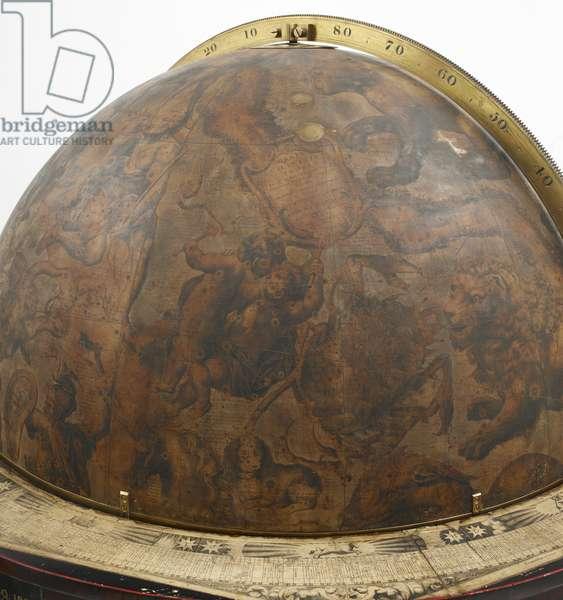 'Celestial Globe', 1693 (wood, plaster fabric & metal)