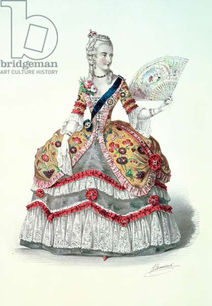 Her most Gracious Majesty, the Queen: ball costume, Buckingham Palace, 1845 (Queen Victoria in fancy dress)