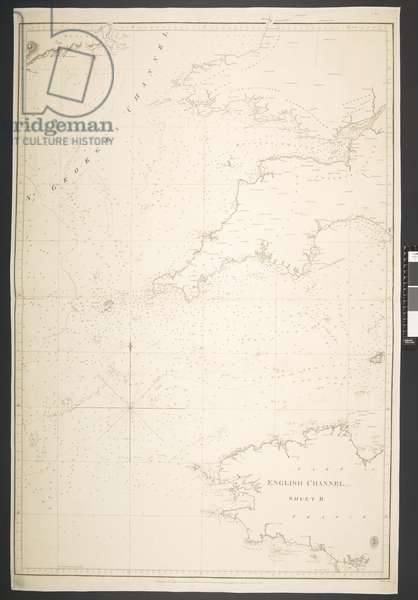 Part of the English Channel, Sheet II, 1824 (litho)