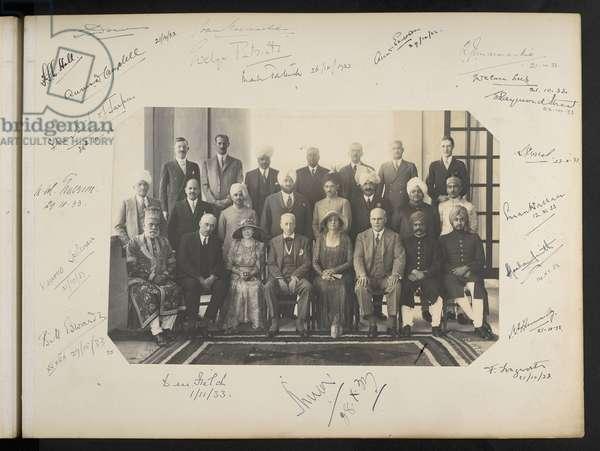 Group Portrait, Royal Willingdon Sports Club, c.1930 (b/w photo)