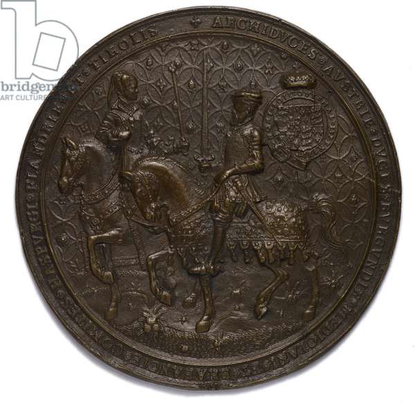 Cotton Charter XVI 4C Great Seal of Philip and Mary (bronze)