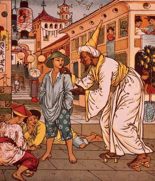 Aladdin's Picture Book, Arabian Nights, 1878 (illustration)