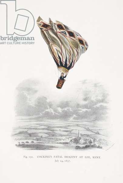 Robert Cocking's fatal descent at Lee, Kent, July 24, 1837