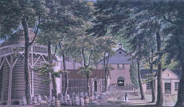 Messrs Beaufoy, Vinegar Distillery, formerly Cupor Gardens, 1798
