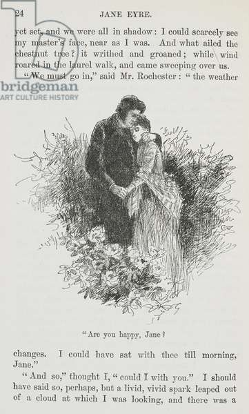"""""""Are you happy, Jane ?"""" Jane Eyre and Mr Rochester."""