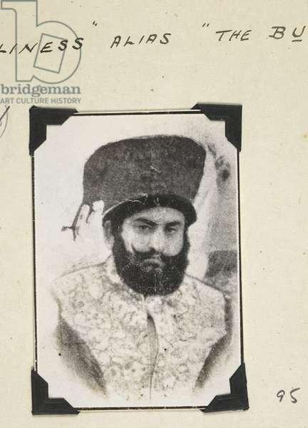 Pir Sibghatullah Shah II, Pir Pagaro (b/w photo)