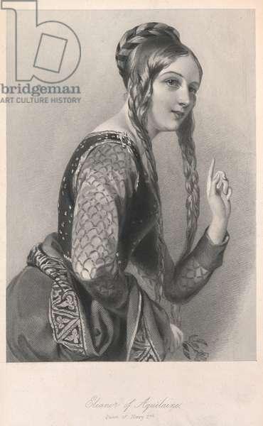 Eleanor of Aquitaine, Queen of Henry II.