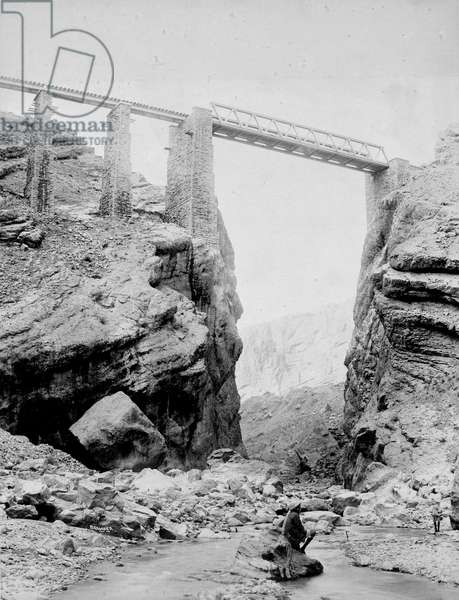 Louise Margaret Bridge, Chappah Ridge, Shin-Pishin Ry.
