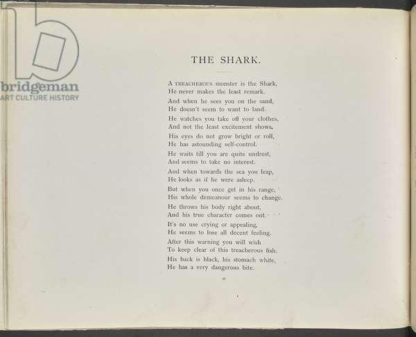 Poem: The shark.