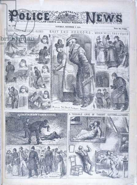 Six Whitechapel murders