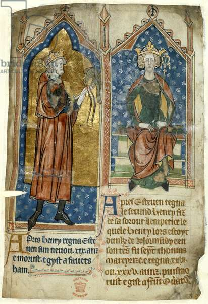 King Stephen and King Henry II