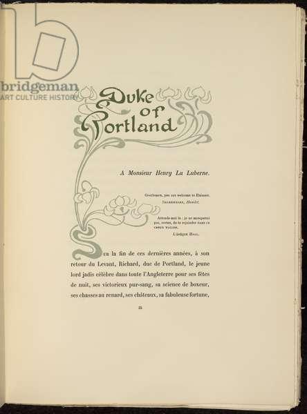 Duke of Portland