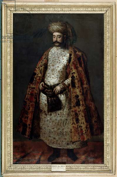 Nakd 'Ali Beg, Envoy from Persia, 1626 (oil on canvas)