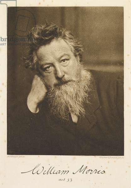 Portrait of William Morris.