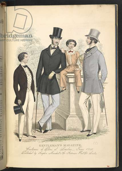 Costumes de Paris et Londres. June 1850. Plate 16.The Gentleman's Magazine of Fashion, Fancy Costumes, and the Regimentals of the Army.London, England : 1828