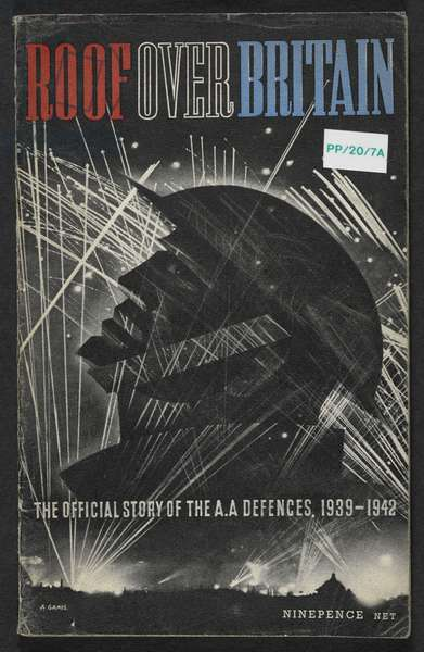 Blitz.  Roof over Britain.  Ministery of Information propaganda leaflet