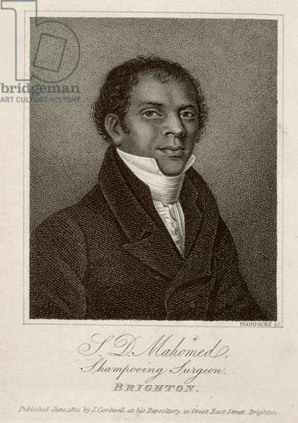 S.D. Mahomed, Shampooing Surgeon, Brighton 1826