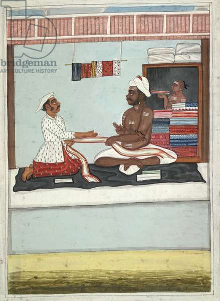 MS Add.Or.2531 Cloth Merchant, c.1800 (w/c on paper)