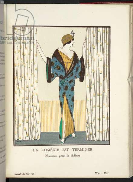 """""""La Comédie est Terminée - Manteau pour le théâtre."""""""