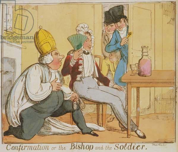 Cup.363.gg.31.(4) Confirmation, or the Bishop and the Soldier, by the Hon. Percy Jocelyn, London, 1822