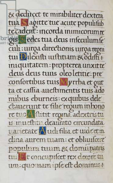 Text page; Psalm 44