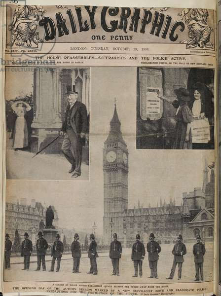 Front cover of the Daily Graphic.