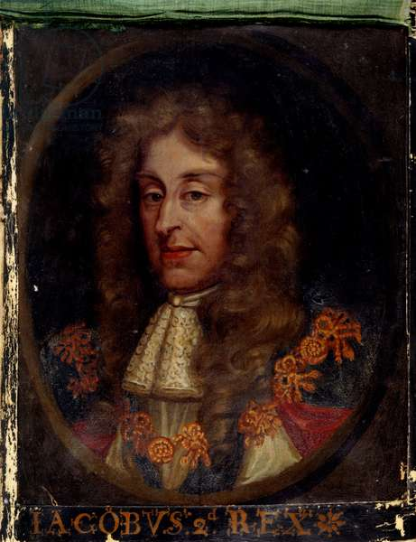 Portrait of King James II