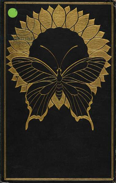 Front Cover for 'The Picture of Dorian Gray', by Oscar Wilde, 1925 (leather)