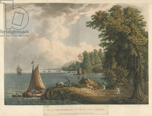 View of Dry Harbour in the Parish of St Ann, from Six Views in the Island of Jamaica, 1800