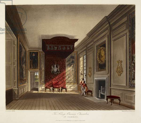 The King's presence chamber. St. James's Palace.