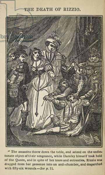 The death of Rizzio