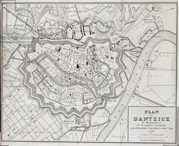 Plan of Dantzick (Danzig)