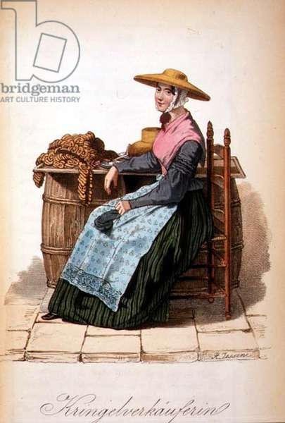 Cracknel Seller, 1843-46 (engraving)