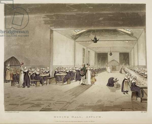 Dining hall, Asylum