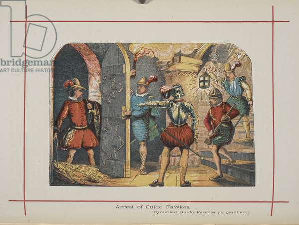 Arrest of Guido Fawkes.
