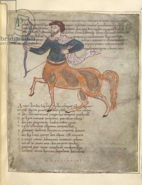 Cotton MS Tiberius B V f.37r 'Anglo-Saxon Miscellany and Pseudo-Joachim of Fiore, De oneribus prophetarum', 700-1350 (ink & colour on vellum)