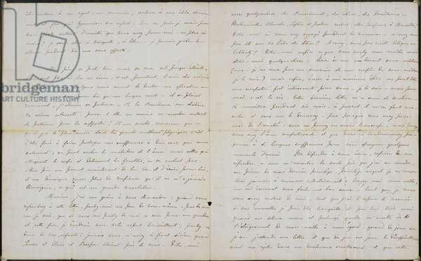 Letter from Charlotte Brontë to Professor Constantin Heger 18 November 1844.