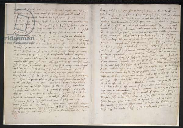 Autograph letter from Thomas More to Henry VII, 5 March 1534 (ink on paper)