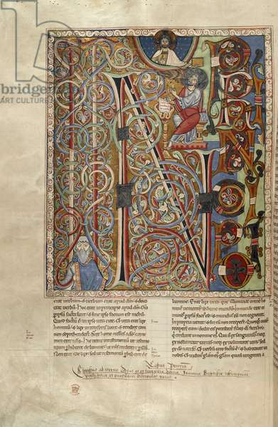 Incipit page; St John's Gospel