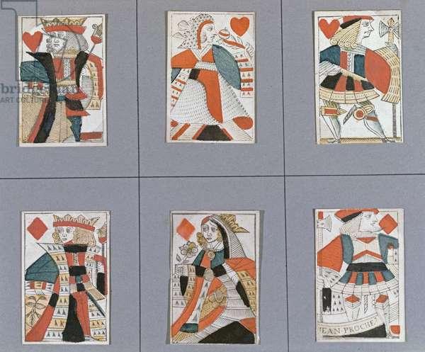 Add 12228 f.313v Men playing cards
