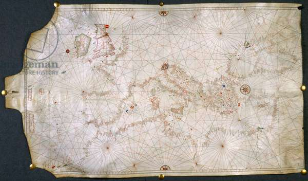 Chart of the coasts of Europe