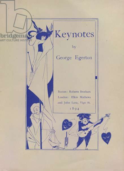Keynotes by George Egerton from 20 Miniature Posters drawn, 1895 (drawing)