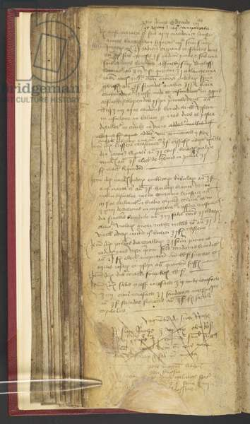 Harley 1628 f.78v, Apothecary Book with prescription for Edward IV, for enemas, c.1483 (vellum)
